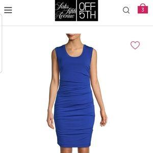 Nicole Miller Everyday Blue Sheath dress S NWT
